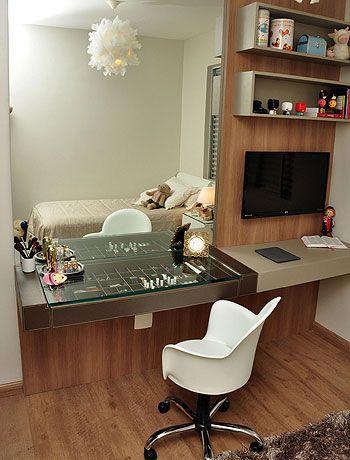 Penteadeiras Decoradas (65 Fotos Dicas para decorar/organizar)