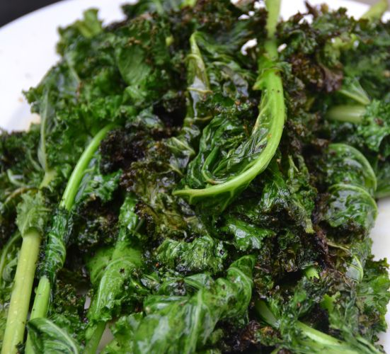 Garlic Lemon Grilled Kale......I like Kale sauteed!  I will have to try this sometime.