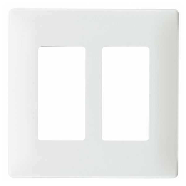 Legrand Radiant 2-Gang White Double Decorator Wall Plate | Lowe's Canada