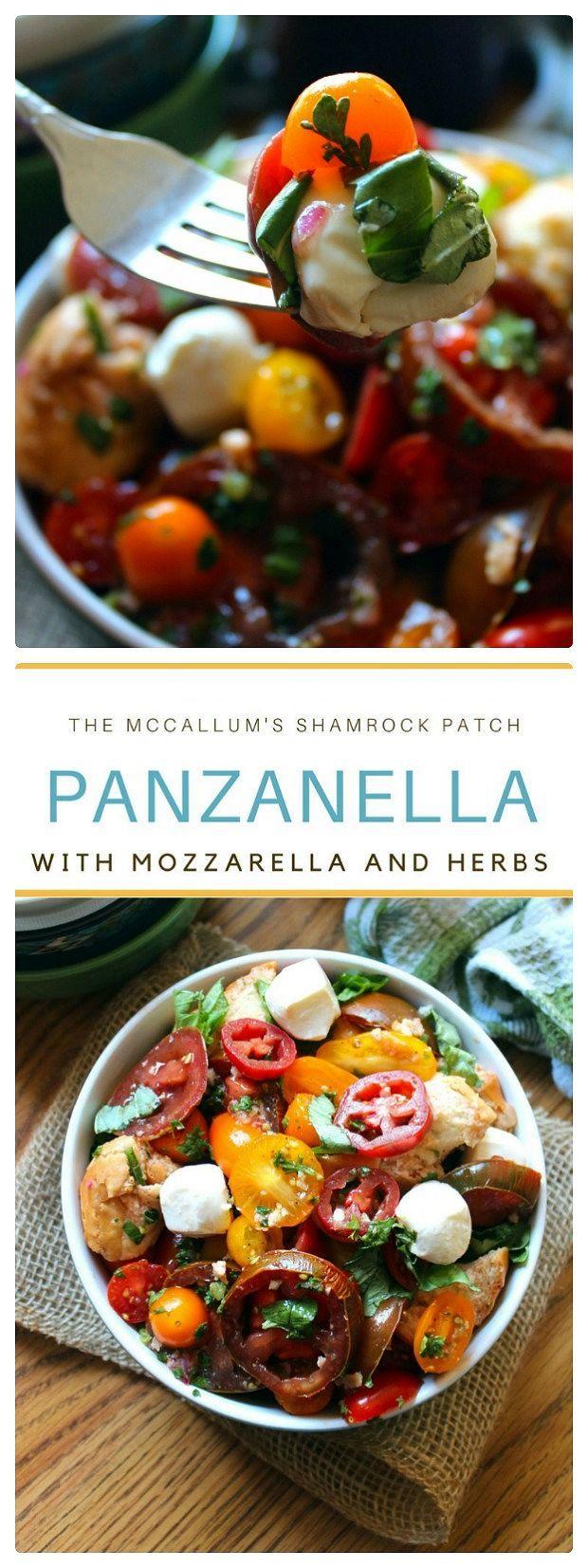 Hf ideas parrillas y asados - Panzanella With Mozzarella And Herbs