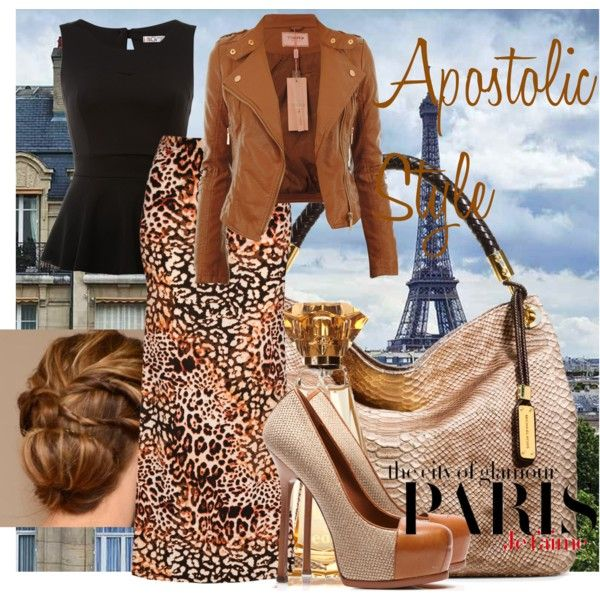 Paris City of Glamour Apostolic Style, created by emmyholloway on Polyvore