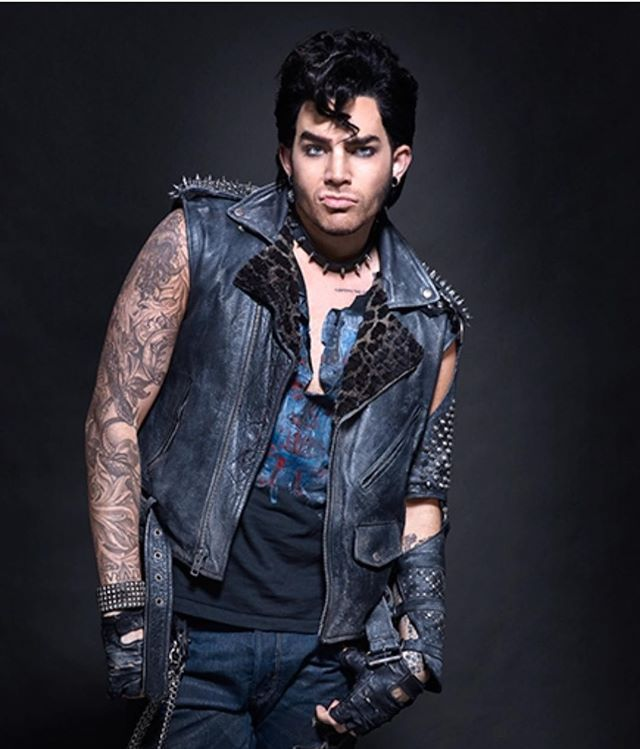 """2016 - Adam Lambert as """"Eddie"""" in the Rocky Horror Picture Show remake"""