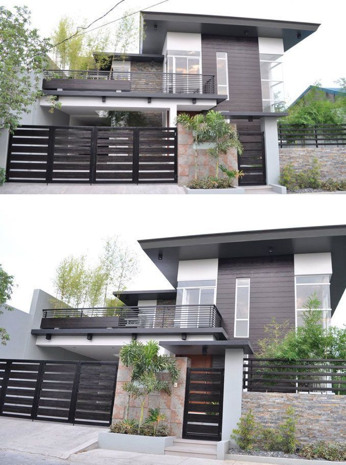 Modern 2 Story House 2021 In 2020 Modern Exterior House Designs Philippines House Design House Gate Design