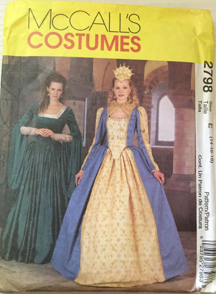 The 141 best Costumes- McCall\'s Sewing Patterns twogirlpugs@Bonanza ...