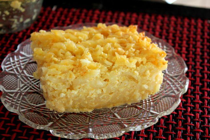 Budinca de branza cu vanilie si portocala
