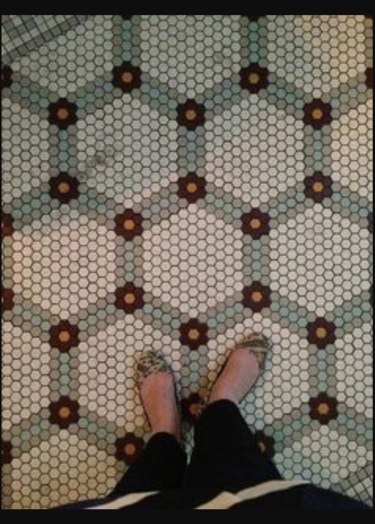 Penny Floor Pattern Floors Pinterest Tile Patterns