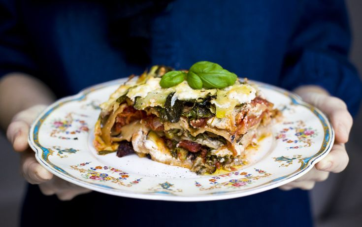 World's Greatest Vegetable Lasagna