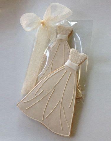 Casue — Princess Wedding Dress Cookies