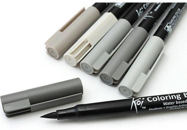 Best color brushes images on pinterest brush pen art