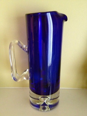 Cobalt Blue- Martini Pitcher