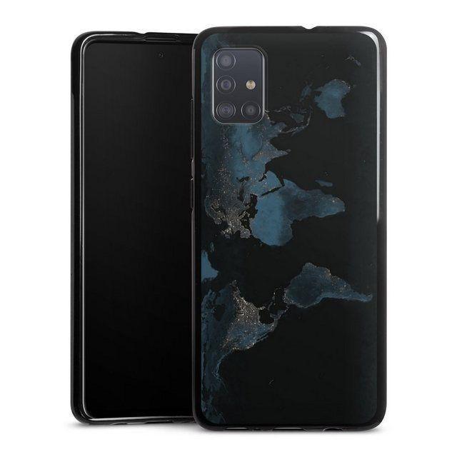 Phone Case Nightlight Worldmap Samsung Galaxy A51 Shell World Map Map Night Samsung Galaxy Samsung Phone Cases Galaxy