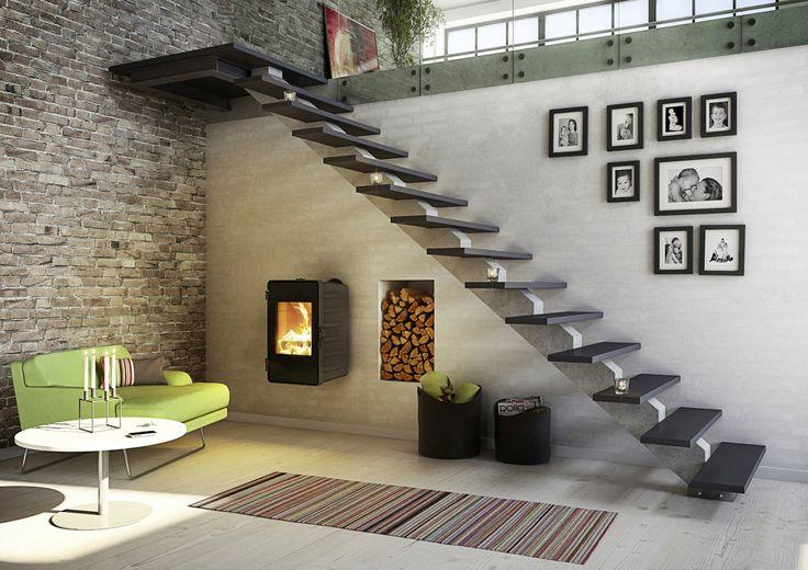 Best 25 Wood Stove Wall Ideas On Pinterest Living Room