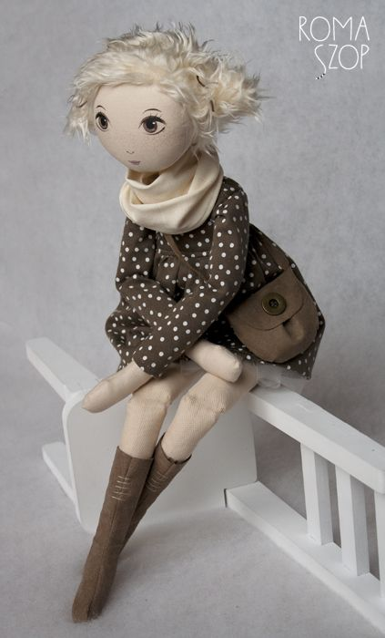 RomaSzop #handmadedoll #doll