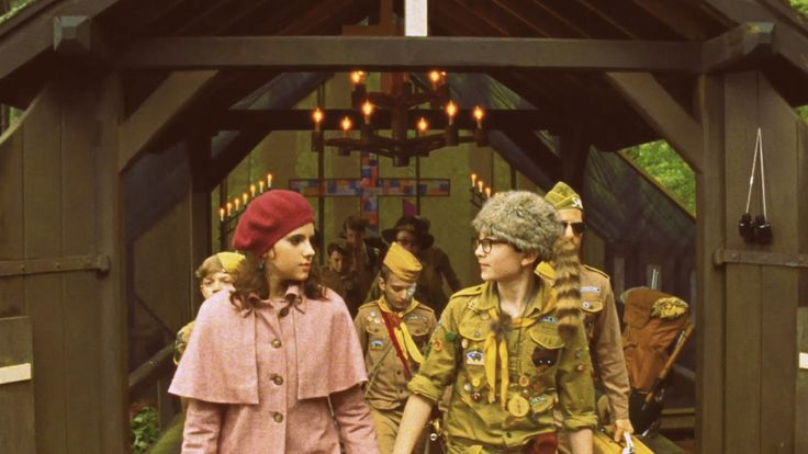 """""""Why do you consider me your enemy?"""" """"Because your girlfriend stabbed me in the back with lefty scissors."""" """"She's my wife now."""" - Moonrise Kingdom"""