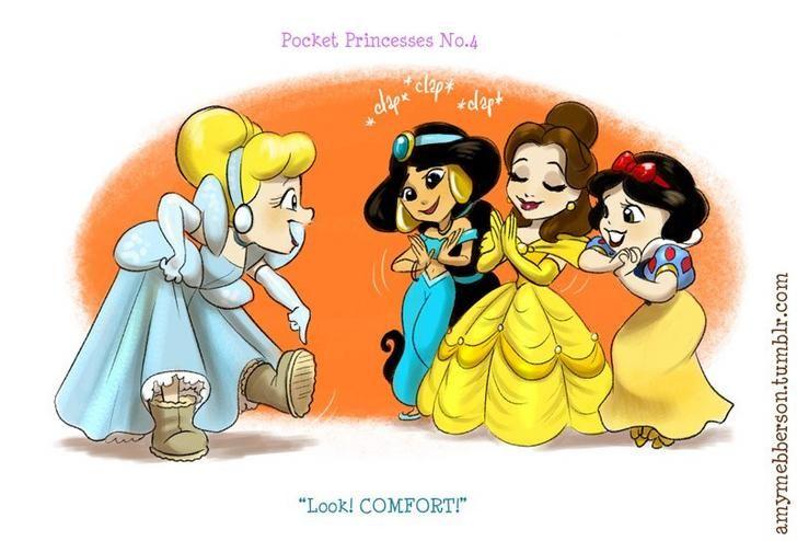 Картинки смешные принцессы, медведь
