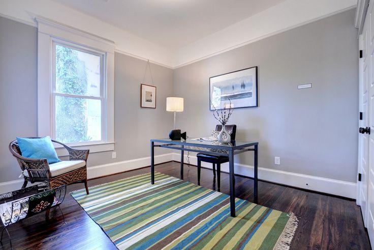 Sherwin Williams Knitting Needles Grey Room Painting