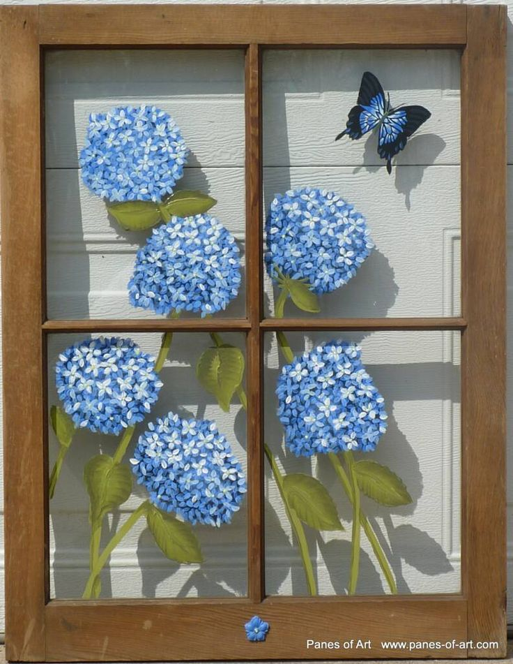 Panes of Art by Michele L. Mueller  Window Pane Art  www.panes-of-art.com