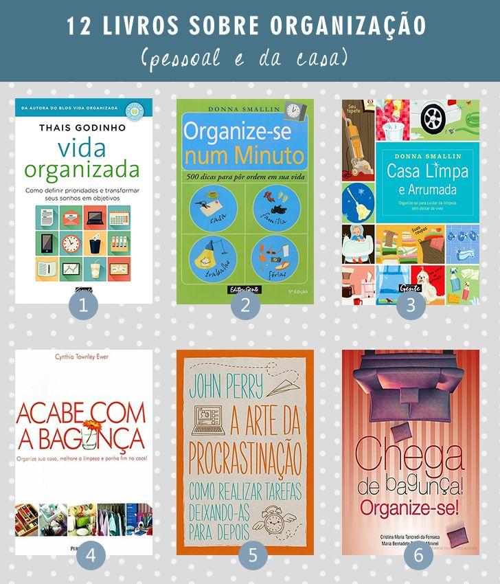 74e507875071b 12 livros sobre organização (pessoal e da casa