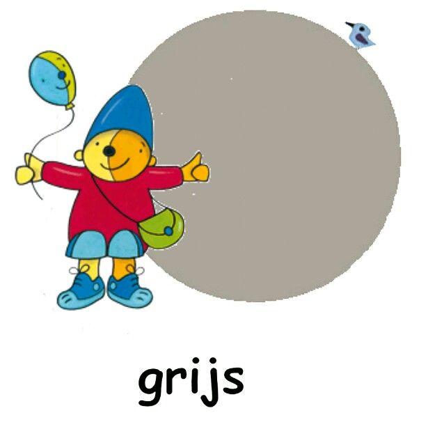 grijs pompom
