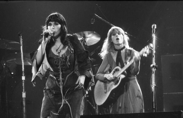 "heart the band | 1977: Ann Wilson and Nancy Wilson of the rock and roll band ""Heart ..."