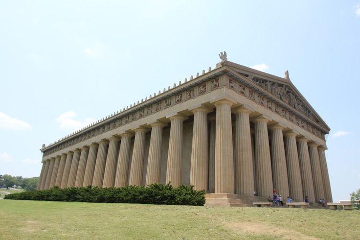 The Parthenon - Nashville, Tennessee on RueBaRue