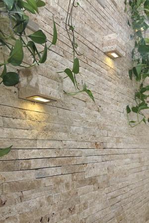 Kültéri dekorburkolat homlokzat