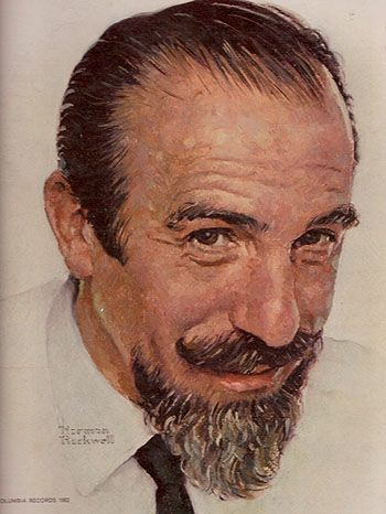 norman rockwell   Norman Rockwell picture of Mitch Miller