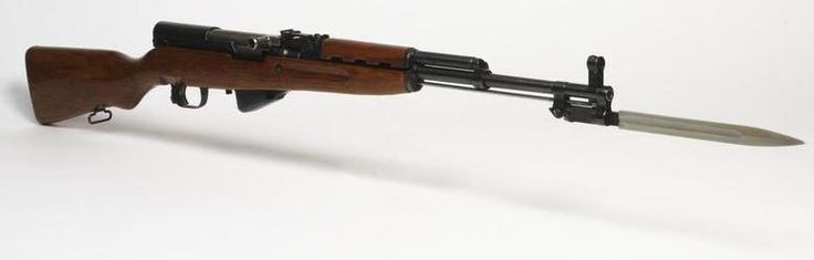 SKS The SKS was designed during the Second World War, intended to provide Soviet troops with a semi-automatic carbine using a smaller, intermediate cartridge than those employed by most rifles of the...