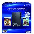 PlayStation 3 160GB Entertainment Bundle W/ Playstation move Bundle Very Good 5Z