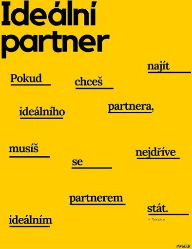 #MAKR Partnerství motivace citát