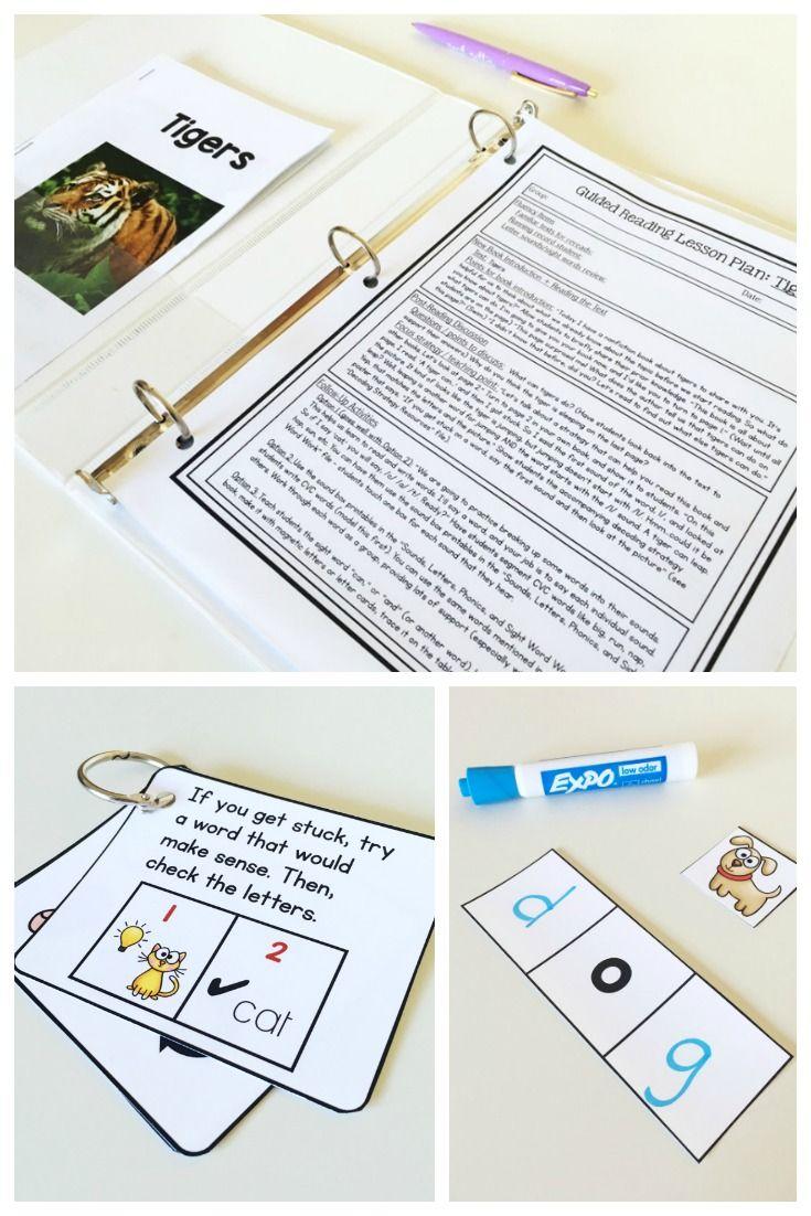 Printable guided reading books for kindergarten 1000 for Reading blueprints 101