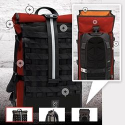 Chrome Industries now lets you customize three of their bags online! Any color you want ~ we made our Barrage with different colors on the l...