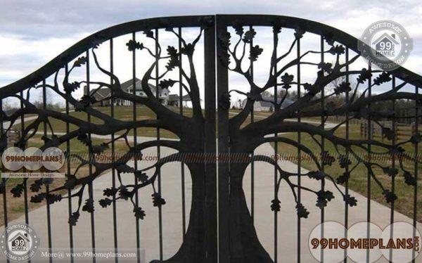 Iron Main Gate Design Catalogue Home Interior House Gate Design