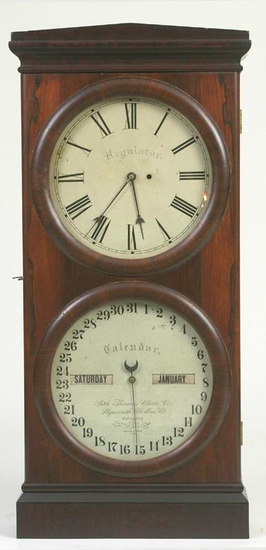 E Ingraham School Room Wall Clocks  Regulator Octagon