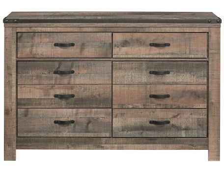 Trinell Collection - Rustic Dresser
