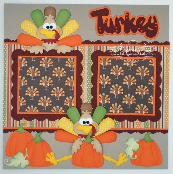 179 Best Autumnfall Thanksgiving Scrapbook Layouts Images On