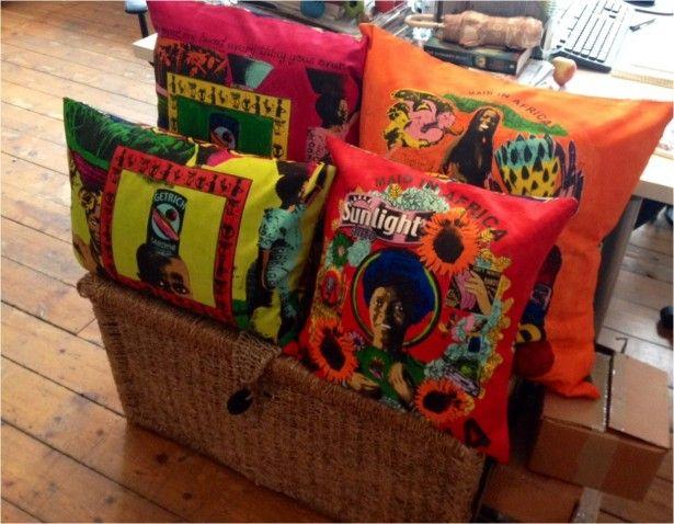 MAUD Interiors cushions