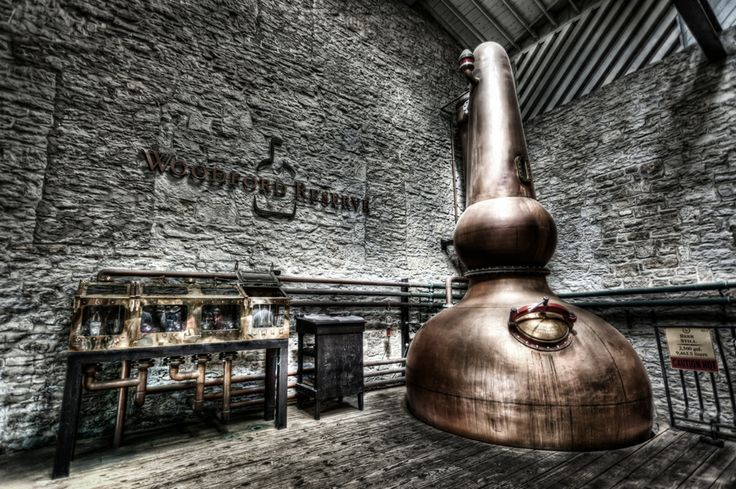 Whiskey Bourbon Beer Still by Michael Noirot, via 500px. Woodford Reserve. The set up looks as good as the whiskey tastes!