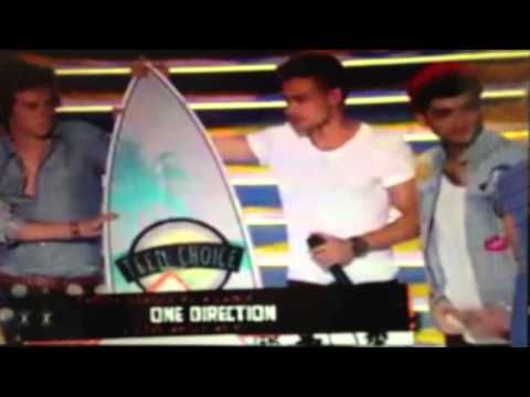 ONE DIRECTION TCA AWARD PRESENTATION (they won all of them!) - YouTube