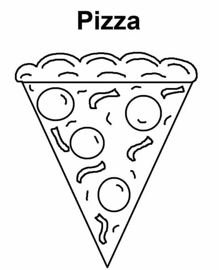 The Collection Of Delicious Pizza Coloring Pages Free Coloring Sheets Pizza Coloring Page Food Coloring Pages Coloring Pages