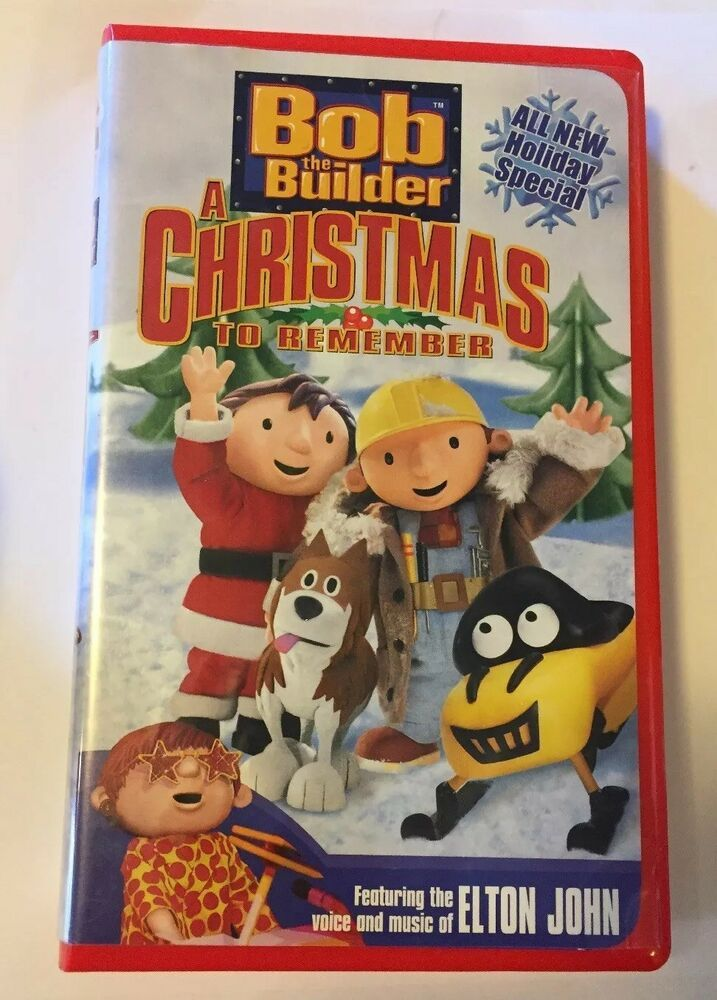 A Christmas To Remember 2019 Bob the Builder   A Christmas To Remember (VHS, 2003) Elton John