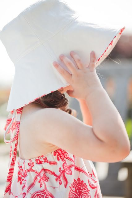 25 things to sew for summer | reversible bucket hat, free pattern