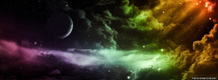 Colourful Cosmos FB Profile Cover | Best facebook cover ...