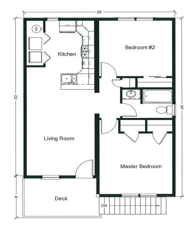 10 Gorgeous Ranch House Plans Ideas Bungalow Floor Plans Modular Home Floor Plans Two Bedroom Floor Plan