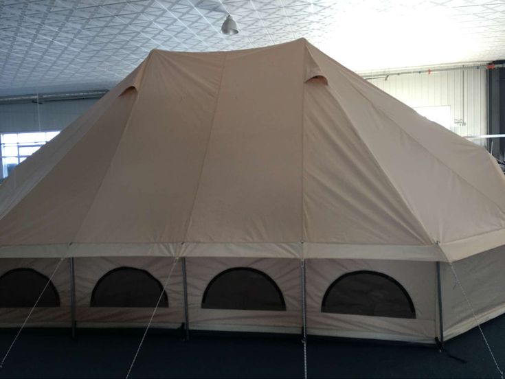 Canvas Bell Tent Caet01 100 Cotton Canvas 280gsm Pu Coating Water Proof Mildew Resistant 540gsm Ripstop Pvc Grou Canvas Bell Tent Canvas Tent Bell Tent
