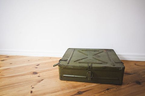 Soviet ammunition box