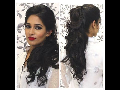24 Party Hairstyles For Indian Girls Hairstyle Monkey