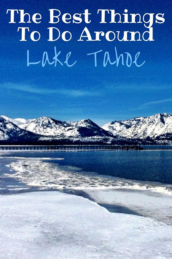 Best things to do around lake tahoe
