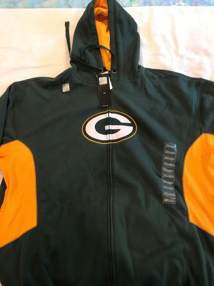 Green Bay Packers Hoodie - new with tags - XL #GreenBayPackers