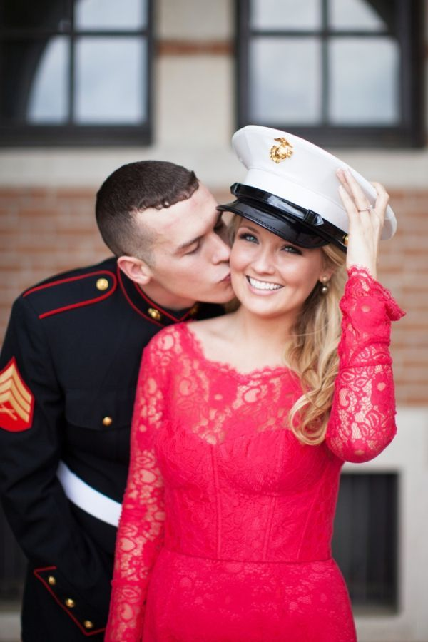 For Veterans & Remembrance Day, we have 11 of our favorite Military Wedding and Engagement Photos to share with you!